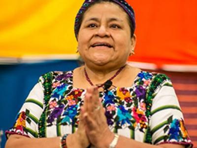 Nobel  Peace Laureate Rigoberta Menchú Tum